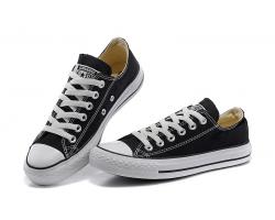 Кеды Converse All Star чёрно-белые низкие