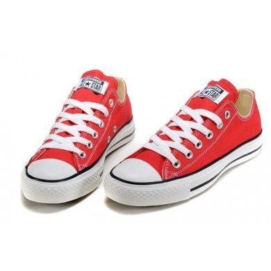 Кеды Converse All Star красные низкие