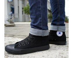 Кеды Converse All Star (высокие черные)