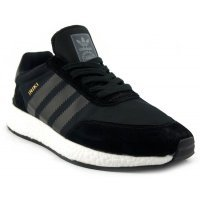 Кроссовки черные Adidas INIKI