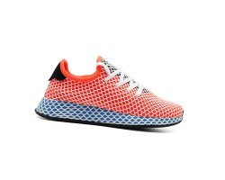 Кроссовки красные Adidas Deerupt Runner