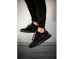 "Кроссовки Аdidas Yeezy Boost 350 V2 ""Black Red"""