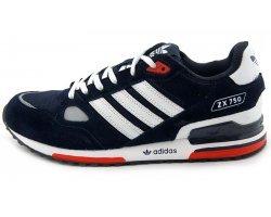 Кроссовки синие Adidas ZX 750