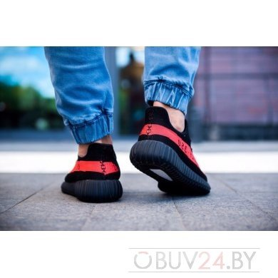 Кроссовки Аdidas Yeezy Boost 350 V2 Core Black Red