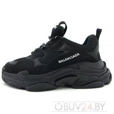 Кроссовки черные Balenciaga