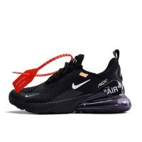 Кроссовки Nike Air Max 270 x Off White Black