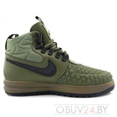 "Кроссовки Nike Lunar FORCE 1 DuckBoot '17 ""MEDIUM OLIVE"""
