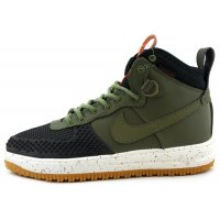 Кроссовки Nike lunar Force 1 Duckboot 'Dark Loden'