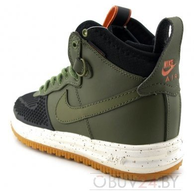 Кроссовки Nike lunar Force 1 Duckboot 'Dark Loden'