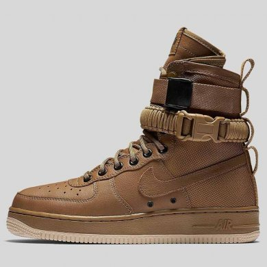 Nike Special Field Air Force 1 Golden Beige (Коричневые)
