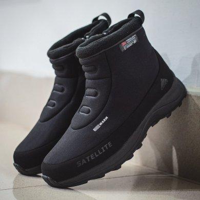 Ботинки черные мужские EDITEX SATELLITE