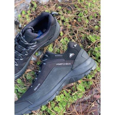 Ботинки синие мужские EDITEX AMPHIBIA w681-02n