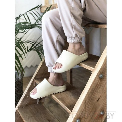 "Сланцы Adidas Yeezy Slide ""Bone"""
