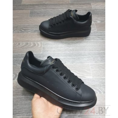 Кроссовки Alexander Mcqueen чёрные