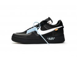 Кроссовки Off White Nike Air Force 1 Low 'Black'