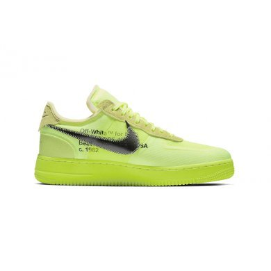 Кроссовки Off White Nike Air Force 1 Low 'Volt'