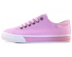 Розовые женские кеды