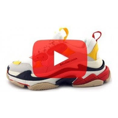 Баленсиага кроссовки цветные